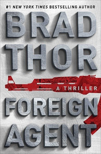 Brad Thor Book Signing, Foreign Agent